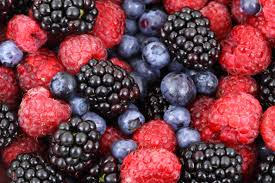 strawberries, blueberries, inflammation, antiinflammatory